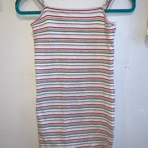 PacSun stripped bodycon dress